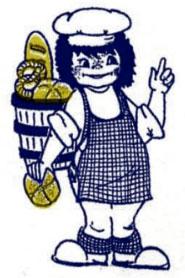 Bäcker Figur Rohlf